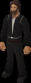 Fake pirate beard (ultimate) equipped