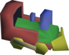 Toy train detail