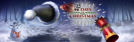15 Days of Christmas banner