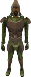Archleather armour (male) equipped