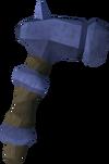 Off-hand argonite warhammer detail