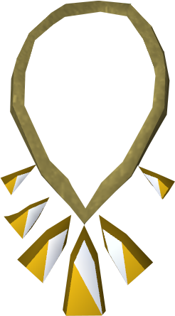 Prized pendant of Prayer detail