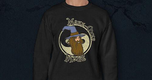 Makeover Mage sweatshirt news image