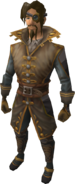 Navigator Outfit equipped (male)