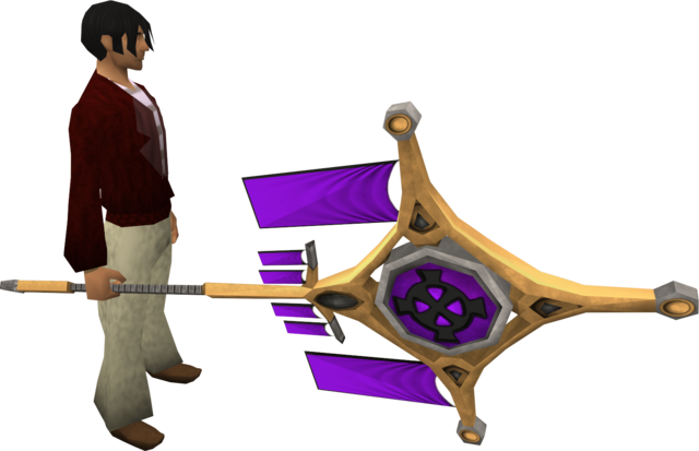 File:Banner of Zaros (tier 4) equipped.png