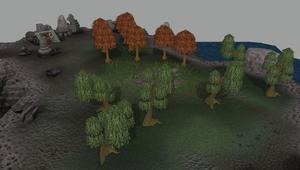 Daemonheim Woodcutting Isle