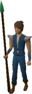 Rune spear kp equipped