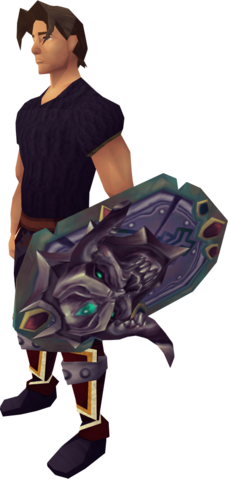 File:Cursed Arrav Shield equipped.png