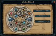 Wicked hood interface