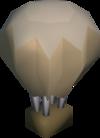 Origami balloon detail