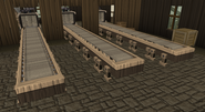 Bloodsplatter Isle production line