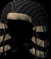 Pharaoh's bun (red) detail