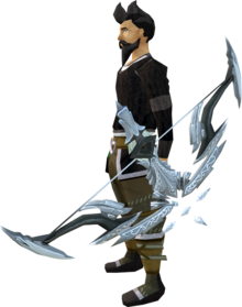 Seren godbow (Third Age) equipped