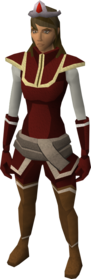Blood tiara equipped