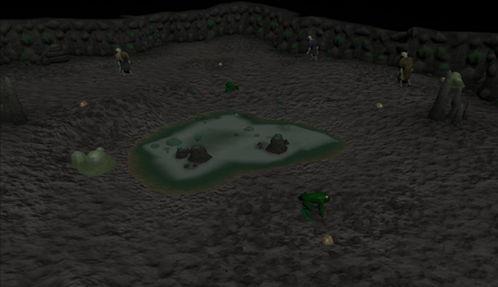 Lumbridge Swamp Caves old