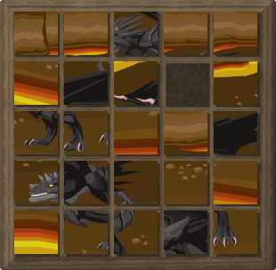 Black Dragon Elite Puzzle Mixed