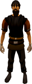 Earth runecrafting gloves equipped