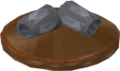 Reinald's Smithing Emporium Silver armguards stand.png
