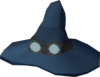 Runecrafter hat (blue, goggles on) detail