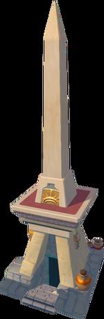 Shifting Tombs obelisk