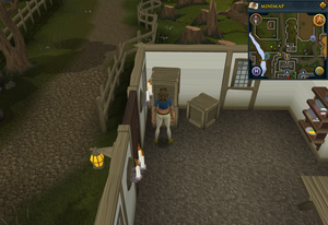 Simple clue North Ardougne shed crate