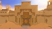 Sophanem entrance