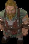 Commander Veldaban in gewone kleren