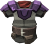Miner chestplate (mithril) detail