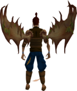 Dryad Wings equipped