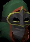Trickster helm detail
