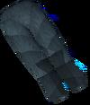 Werewolf legs (dark grey, male) detail