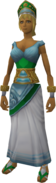 Ancient Outfit (female) equipped