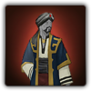 Dervish outfit icon (male)