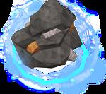 Divine bronze rock detail