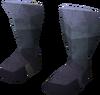 Warrior boots (rune) detail