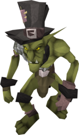 Black goblin mail equipped