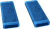 Blue rectangle key detail