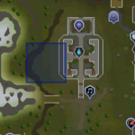 Sinkholes (Edgeville Monastery) location