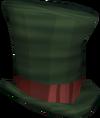 Top hat (green) detail