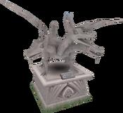 2002 King Black Dragon statue