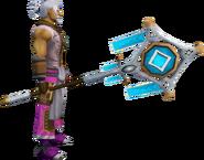 Banner of Seren (tier 3) equipped