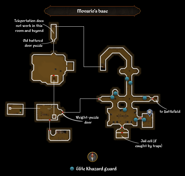 Movario's base map
