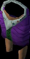 Pharaoh's shendyt (purple, female) detail