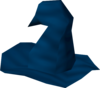 Blue hat (Legends' Quest) detail
