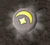 Glowing cosmic rune detail