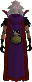 Retro hooded cooking cape (t) equipped