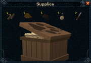 Nyriki's crate contents