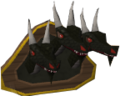 King Black Dragon heads (mounted) chatheads old.png