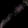 Obsidian knife detail