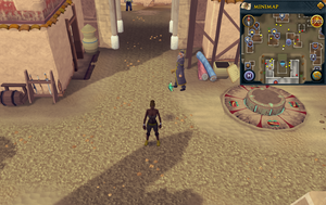Compass clue Al Kharid south-west of lodestone